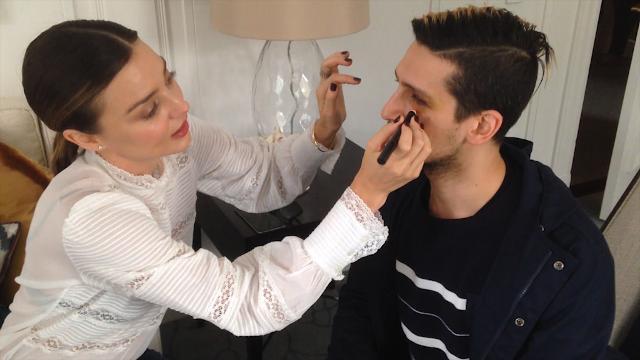 EXCLUSIVE: Miranda Kerr fixes TheFIX reporter's black eye