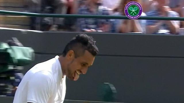 Kyrgios books Murray blockbuster at Wimbledon