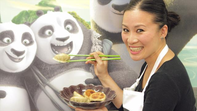 How to make 'panda' dumplings with Poh Ling Yeow