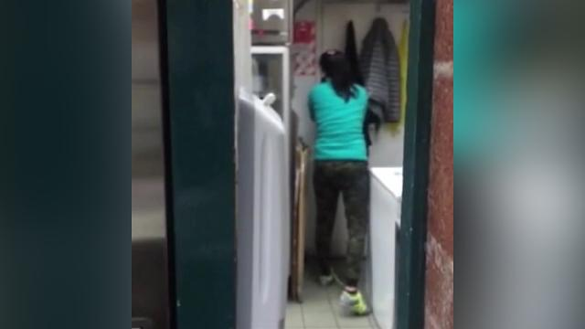 9RAW: Customer rescues Subway worker trapped in freezer