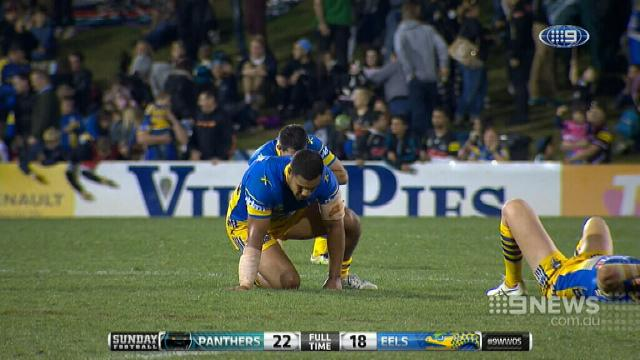 Panthers pip Eels in titanic clash