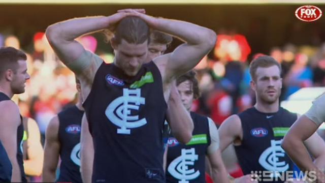 Carlton fall short of claiming Swans scalp