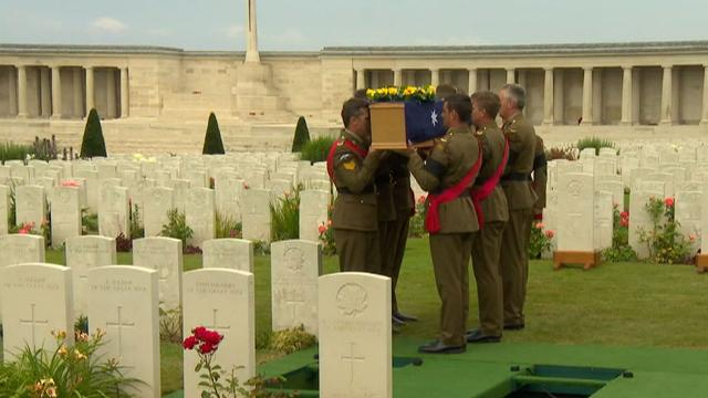 Troops remembered for their sacrifice at the Battle of Pozieres