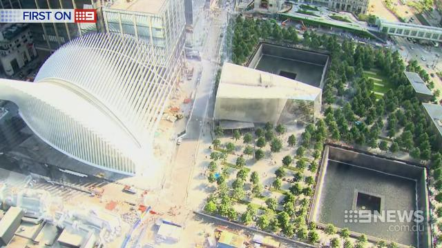 Westfield to open at New York's ground zero
