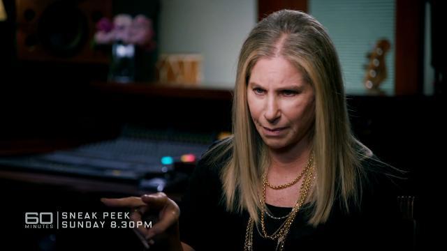 60 Minutes Sneak Peek: Barbra Streisand schools Michael Usher