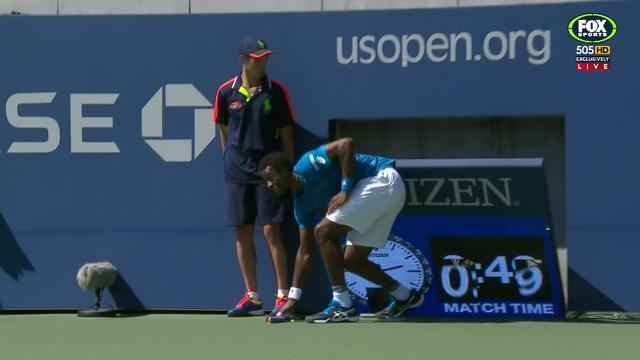 Monfils in near-miss at US Open