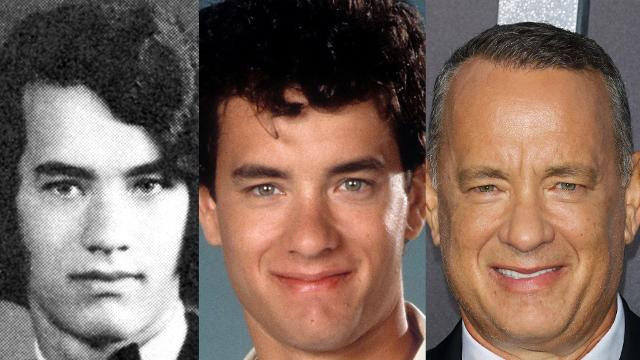 The evolution of Tom Hanks' face