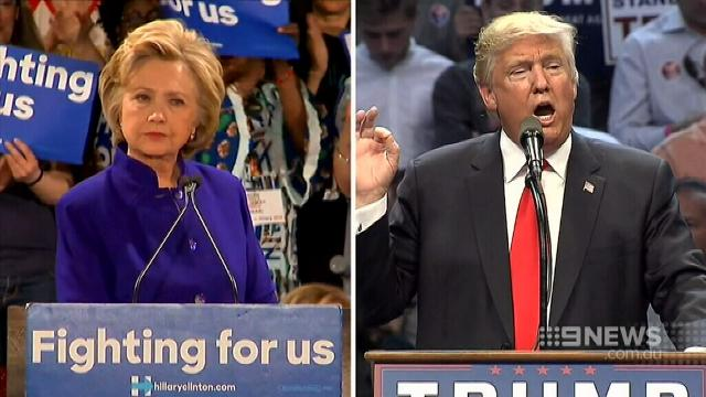 VIDEO: Trump and Clinton set for first presidential debate