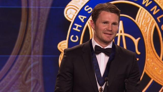 Dangerfield wins record Brownlow Medal
