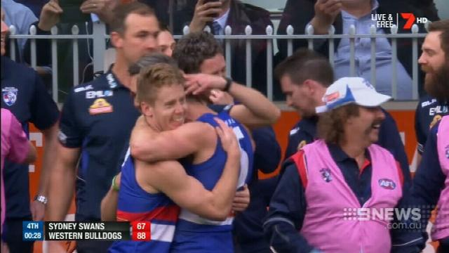 AFL: Dogs lose according to advertisement in The Age