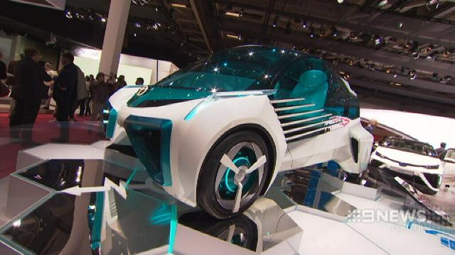Paris Motor Show showcases the cars of the future