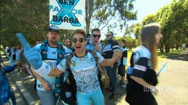 VIDEO: Sharks fans ready for grand final