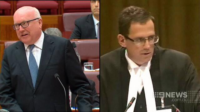 George Brandis refuses Labor's calls to resign after Solicitor-General stoush