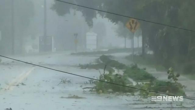 Hurricane Matthew hits south-eastern parts of US