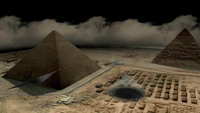 Secret rooms found inside Great Pyramid