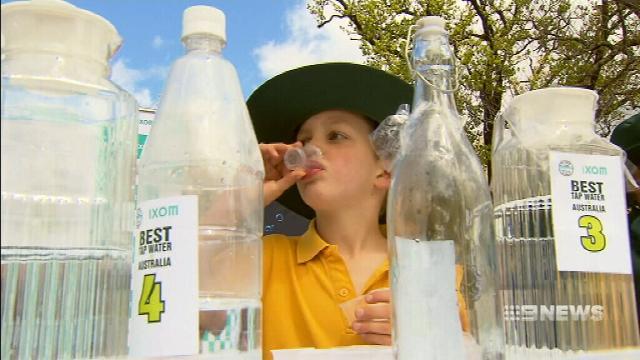 Tap water taste tested