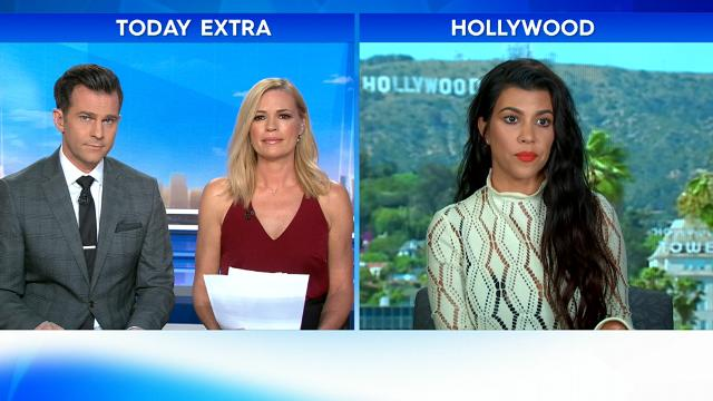 Kourtney's publicist halts interview with TODAY Extra