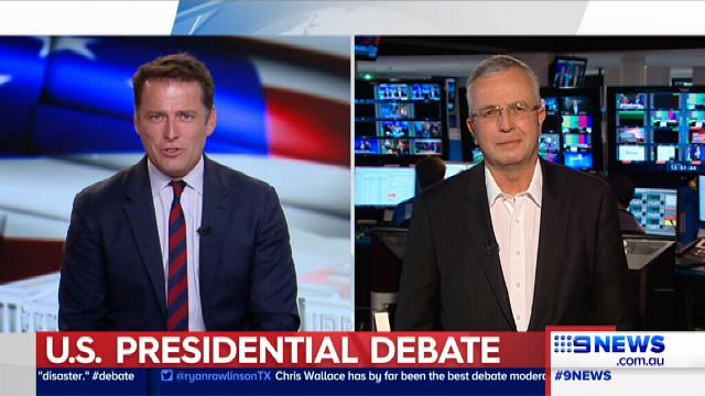 Body language expert grades Hillary Clinton and Donald Trump's performance in today's presidential debate