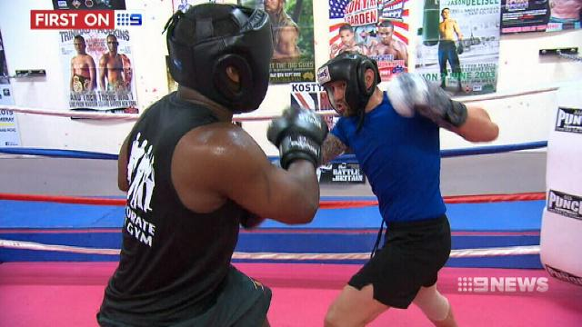 VIDEO: Police take on corporates in charity boxing stoush