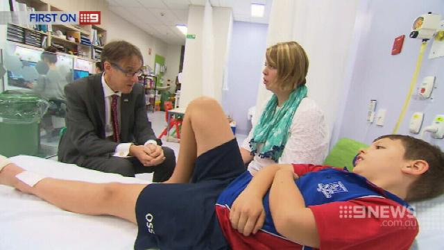 VIDEO: Queensland researchers prove less silver is best for burns