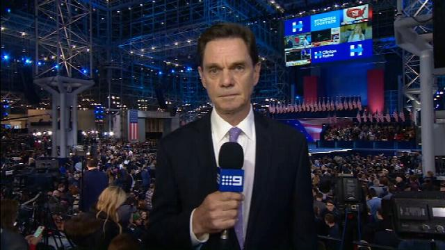 VIDEO: Hillary Clinton crowd despondent as victory party unlikely to eventuate