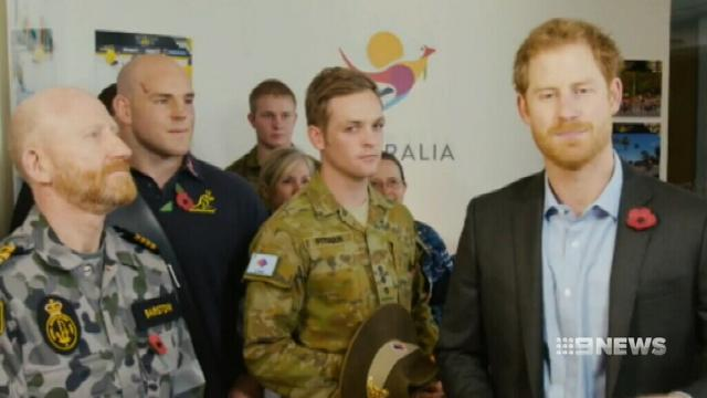 VIDEO: Prince Harry to bring Invictus Games to Sydney in 2018