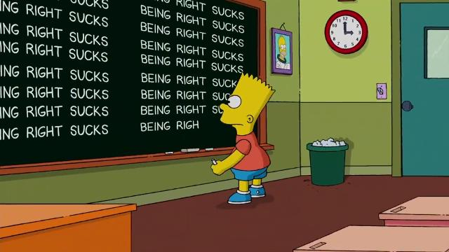 9RAW: The Simpsons on Trump: 'Being right sucks'