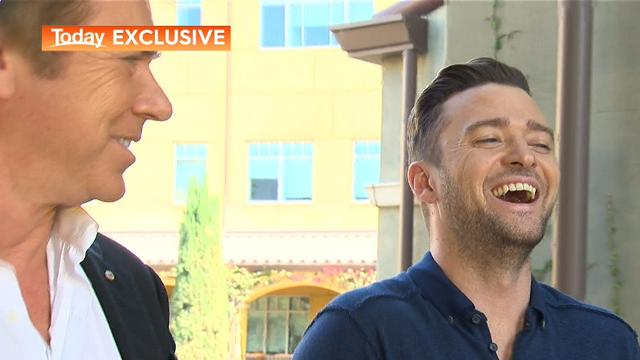 Entertainment News: Up Close with Justin Timberlake