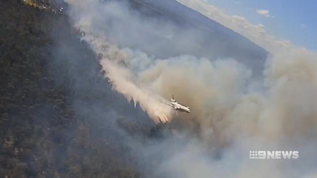 VIDEO: How firefighters saved Sydney's west from bushfire