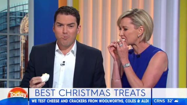 Christmas treat taste off