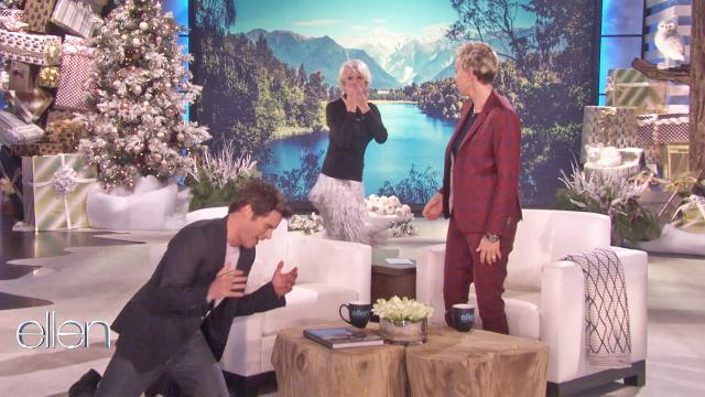 Helen Mirren surprises James Marsden