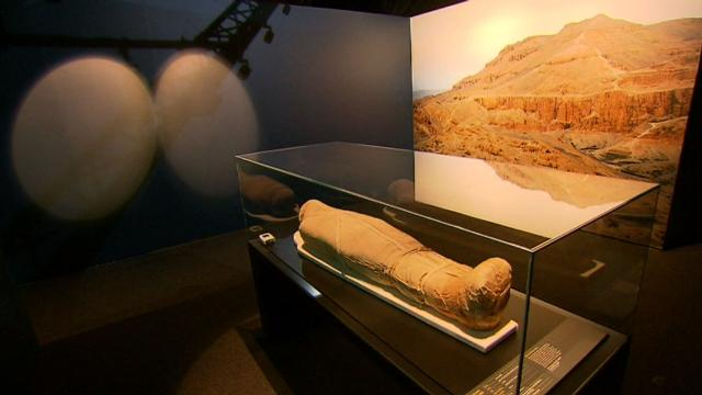 Sydney's Powerhouse museum hosts 'once in a lifetime' mummy exhibition