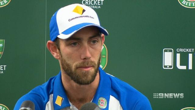 Glenn Maxwell fined for comment on Matthew Wade