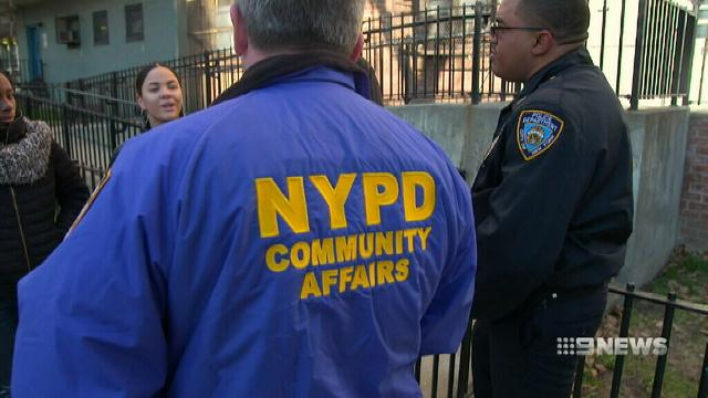 VIDEO: New York police fight against youth gangs
