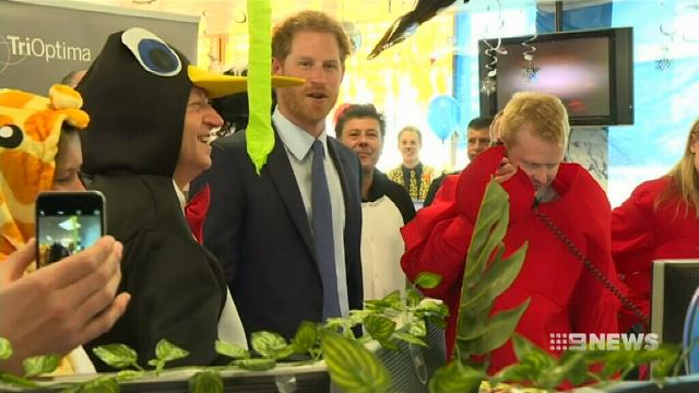 VIDEO: Prince Harry raises millions for charity