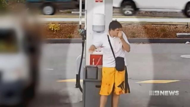 VIDEO: Bloodied car thief steals FWD as owner fills it up with petrol