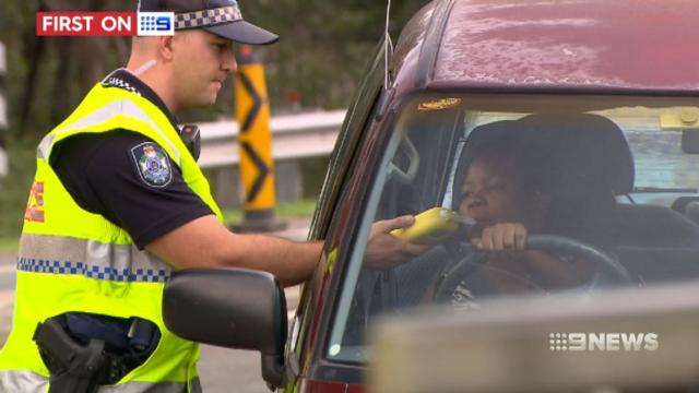 Queensland Police in road safety blitz