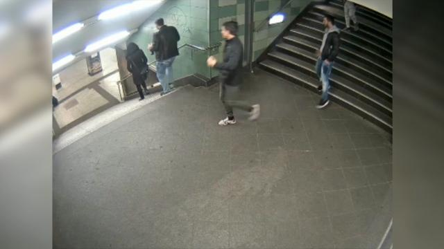 Man admits to kicking woman down subway stairs