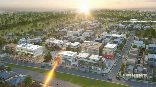 VIDEO: Plans revealed for suburb in Sydney's north-west