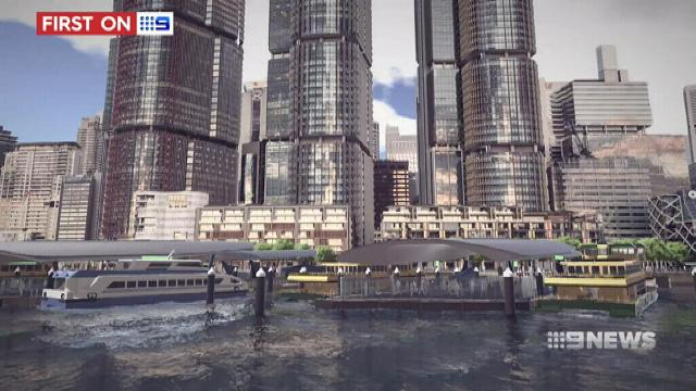 VIDEO: First look at the new Barangaroo ferry hub set to transform Sydney Harbour