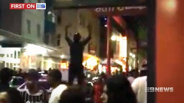 VIDEO: Adelaide's violent New Year's Eve riot caught on camera