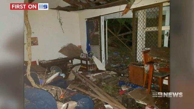 VIDEO: Ipswich family still homeless weeks after damaging south-east Queensland storm