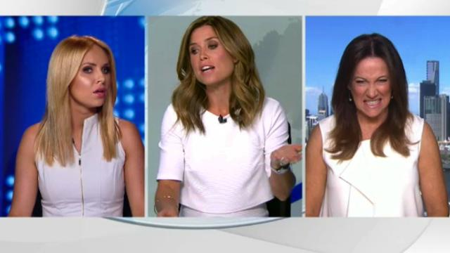 White wardrobes cause news drama