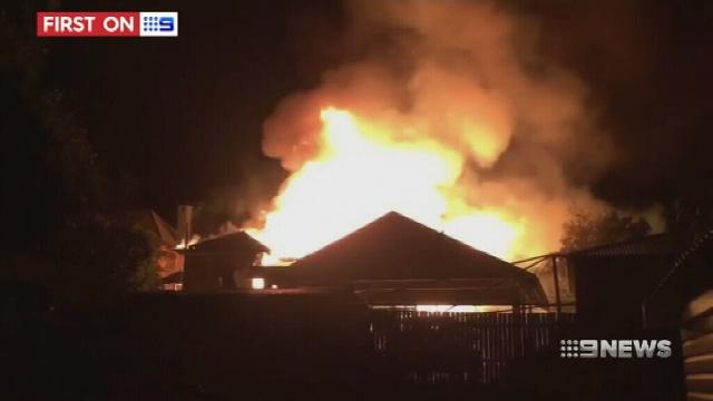 VIDEO: Toowoomba family escapes death after fire
