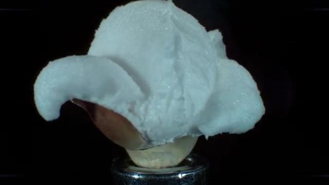 Popcorn popping at 30,000 frame per second will make you misty eyed