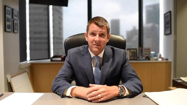 True to form, Mike Baird signs off from NSW's top job on social media