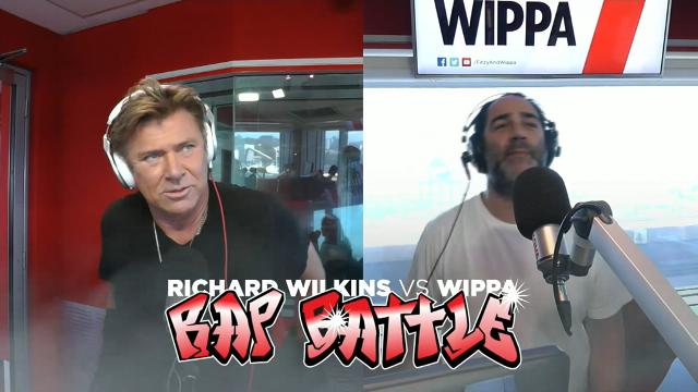 9RAW: Richard 'Dickie' Wilkins faces off against Wippa in epic rap battle