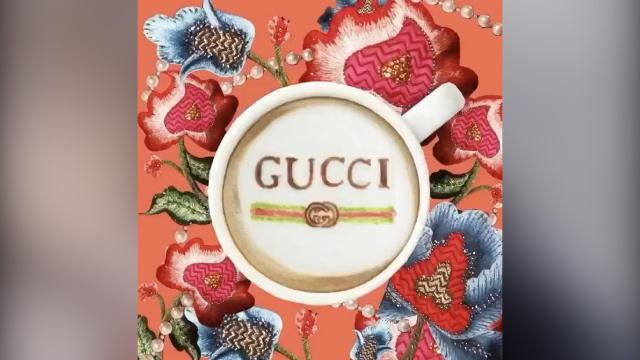 The incredible couture coffees of Instagram