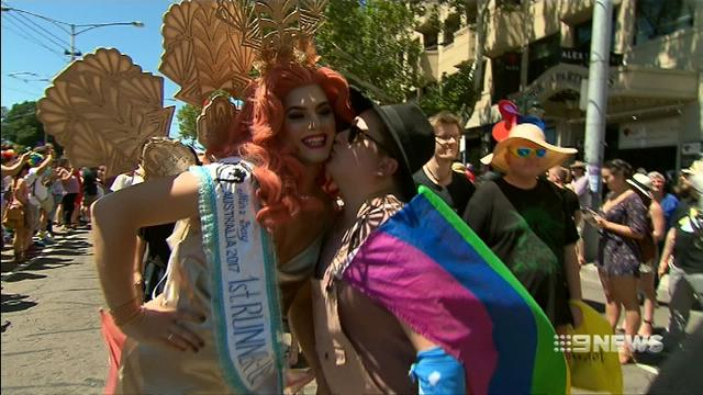 VIDEO: Thousands take part in Melbourne's annual Pride March