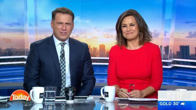 Karl Stefanovic returns to TODAY
